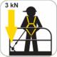 KRATOS FA 20 503 01 Höhensicherungsgerät für Arbeitsbühne