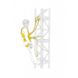 PETZL FALL ARREST AND WORK POSITIONING KIT